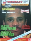 Lloyd Honeyghan vs Johnny Bumphus Welterweight Championship of The World Official Onsite Programme