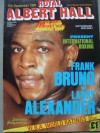 Frank Bruno vs Larry Alexander Official Onsite Programme
