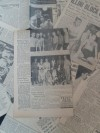 Cassius Clay 1958 Golden Gloves Finals Chicago Tribune ORIGINAL Newspaper Stats and Fight Results Clippings