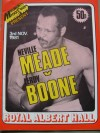 Neville Meade vs Leroy Boone also Featuring Dave Boy Green vs Reg Ford Official Onsite Programme