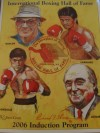 International Boxing Hall of Fame 2006 Induction Programme