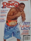 Andy Morris Former British Featherweight Champion SIGNED Ring Magazine