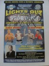 Top Class Referee Tony Weeks SIGNED Sugar Ray Leonard Promotional Flyer