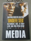 Floyd Mayweather Jr vs Ricky Hatton Manchester Press Conference Credential