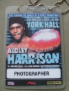 Audley Harrison vs Mathew Ellis Photographer Onsite Credential