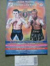 Ricky Hatton vs Jonathan Thaxton Official Onsite Programme Plus Ticket also SIGNED by Junior Witter and Audley Harrison
