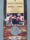 Frankie Randall vs Julio Cesar Chavez The Rematch Limited Edition 1994 Commemorative Token