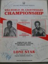 Roger Mayweather vs Rocky Lockridge DUAL SIGNED Official Onsite Programme Plus ADDITIONAL Signatures