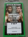 David Haye Worn Official Fight Credential Also SIGNED on Reverse By Marco Antonio Barrera