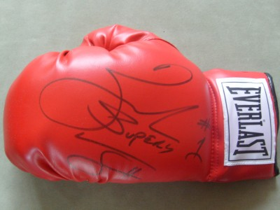 Zab Judah 2 Weight World Champion SIGNED Everlast Laced Glove
