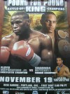 Floyd Mayweather Jr vs Sharmba Mitchell Official Onsite Poster