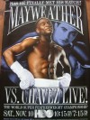 Floyd Mayweather Jr vs Jesus Chavez HBO Fight Poster
