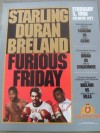 Roberto Duran vs Ricky Stackhouse Official Onsite Programme also Featuring Marlon Starling and Mark Breland