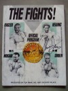 Marvin Hagler vs John Mugabi Also Featuring  Thomas Hearns vs James Shuler Official Onsite Programme SIGNED By Thomas Hearns