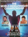Thomas Hearns vs Juan Roldan Official Onsite Programme