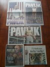 Kelly Pavlik Limited Edition Vindicator Posters Along With Newspaper Fight Report and Special Edition 12 Page Feature