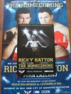 Ricky Hatton vs Juan Lazcano Official Onsite Programme DUAL SIGNED By Juan Lazcano And Paulie Malignaggi Plus Commemorative Poster