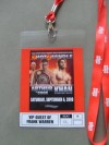 James DeGale 2008 Beijing Olympic Gold Medallist Boxing Sensation Personally WORN And SIGNED VIP Credential