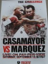 Juan Manuel Marquez vs Joel Casamayor Fight Poster