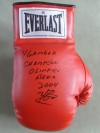 Yuriorkis Gamboa 2004 OLYMPIC GOLD MEDALLIST SIGNED And INSCRIBED Everlast Laced Glove