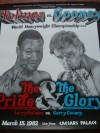 Larry Holmes vs Gerry Cooney  DUAL SIGNED Fight Poster