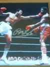 Ron Lyle Former Ali Opponent SIGNED Action Photo Against The Greatest of All Time