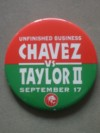 Chavez vs Taylor II Commemorative Official Pin