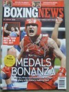 Tony Jefferies 2008 Beijing Olympic Light Heavyweight Bronze Medallist SIGNED Boxing News Magazine