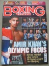 Tony Jefferies 2008 Beijing Olympic Light Heavyweight Bronze Medallist and Team GB Olympian Joe Murray SIGNED Boxing Monthly Magazine
