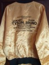 Mike Tyson vs Frank Bruno I Original Promotional Satin Jacket