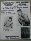 Bernard Hopkins 15th Pro Bout Early Career Official Onsite Programme Against Dave McCluskey