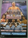 Jamie Moore vs Michele Piccirillo Official Onsite Programme Also Featuring Olympic Irish Sensation Darren Sutherland RIP 2nd Pro Bout
