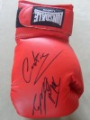 Former WBO World Champions Enzo Maccarinelli and Nicky Cook DUAL SIGNED Lonsdale Glove