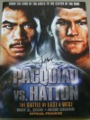 Manny Pacquiao vs Ricky Hatton Official Onsite Programme SIGNED By Manny Pacquiao