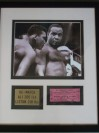 Muhammad Ali and Sonny Liston Official Weigh in Ticket