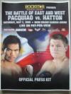 Manny Pacquiao vs Ricky Hatton SUBSTANTIAL Official Press Pack